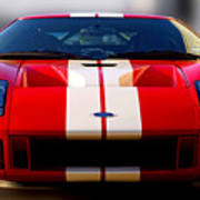 Front Ford Gt Art Print