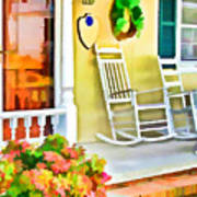 Front Porch 2 Art Print