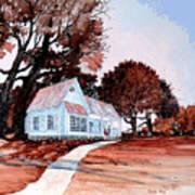Front Porch Court'n Art Print
