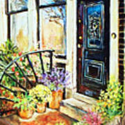 Front Porch Art Print