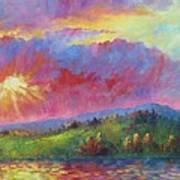 Front Range Sunset Art Print