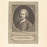 Frontispiece: J.j. Rousseau Art Print