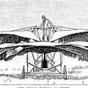 Frost Flying Machine, 1891 Art Print