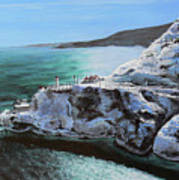 Frosty Fort Amherst Art Print