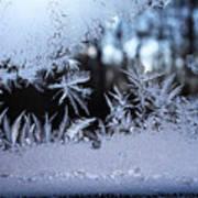Frosty Morning Window Art Print