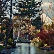 Frozen Creek II Painting Art Print