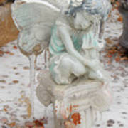 Frozen Fairy Art Print