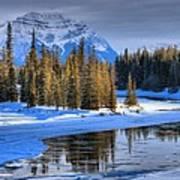 Frozen Jasper Paradise Art Print