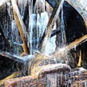 Frozen - John P. Cable Grist Mill Art Print