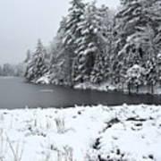Frozen Lake 2 Art Print