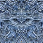 Frozen Symmetry Art Print
