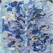 Frozen. Art Print