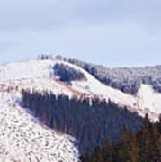 Frozen Valley 5 V2 Art Print