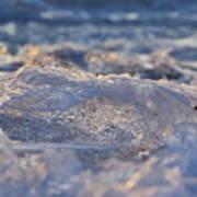 Frozen Wave Art Print