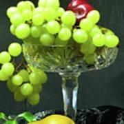 Fruit And Crystal. Art Print