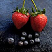 Fruit And Slate Art Print