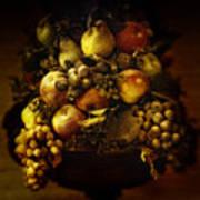 Fruit Basket Art Print