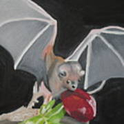 Fruit Bat Art Print