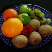 Fruit Dish Art Print