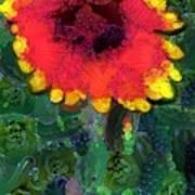 Fruit Salad Flower Art Print