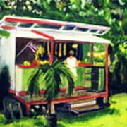 Fruit Stand North Shore Oahu Hawaii #163 Art Print