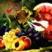 Fruit Still-life Catus 1 No 1 H B Art Print