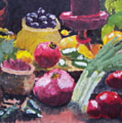 Fruit Still Life Art Print