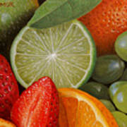Fruitmix Art Print