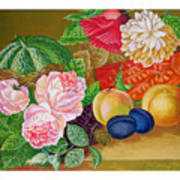 Fruits And Flowers .2006 Art Print