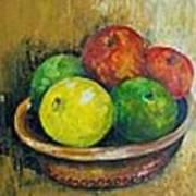 Frutas Art Print