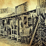 Ft. Apache General Store Art Print