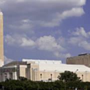 Ft Worth Texas - Landmark Art Print