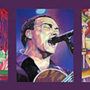 Dave Matthews Band -full Band Set Art Print