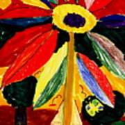 Full Bloom - My Home 2 Art Print