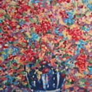 Full Flower Bouquet. Art Print
