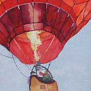 Full Of Hot Air Art Print