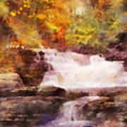 Fuller Falls Art Print