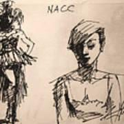 Fun At Art Of Fashion At Nacc 1 Art Print
