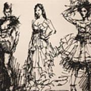 Fun At Art Of Fashion At Nacc 3 Art Print