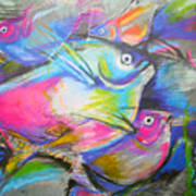 Fun Fish Art Print