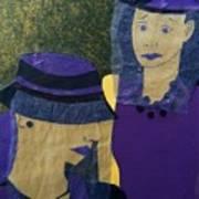 Funeral Masks Art Print