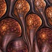 Funghi Flow Art Print