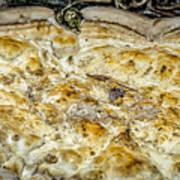 Fungus Pizza Art Print