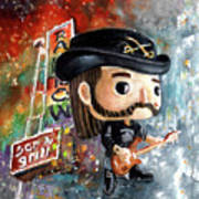 Funko Lemmy Kilminster Out To Lunch Art Print