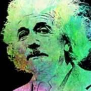 Funky Einstein  Art Print