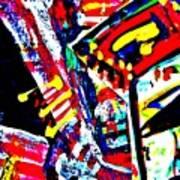 Funky Pop-10 Art Print