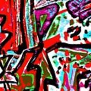 Funky Pop-11 Art Print