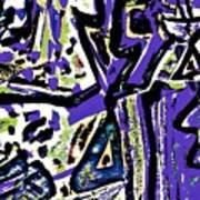 Funky Pop-15 Art Print