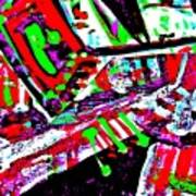 Funky Pop-9 Art Print