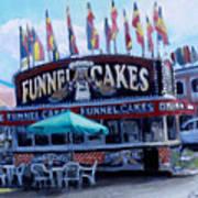 Funnel Cakes Art Print